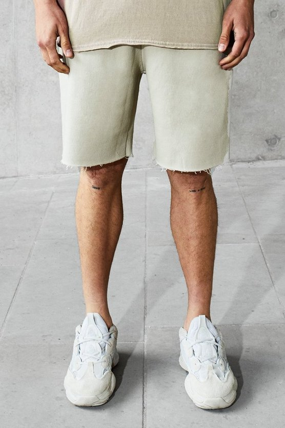 Loose Fit Heavyweight Wash Shorts
