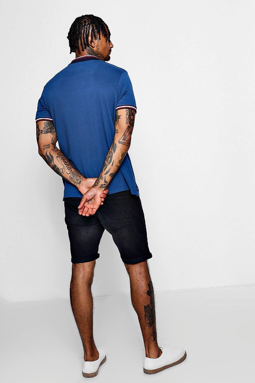 Skinny Fit Skinny black Shorts Denim Fit aRWWpU0