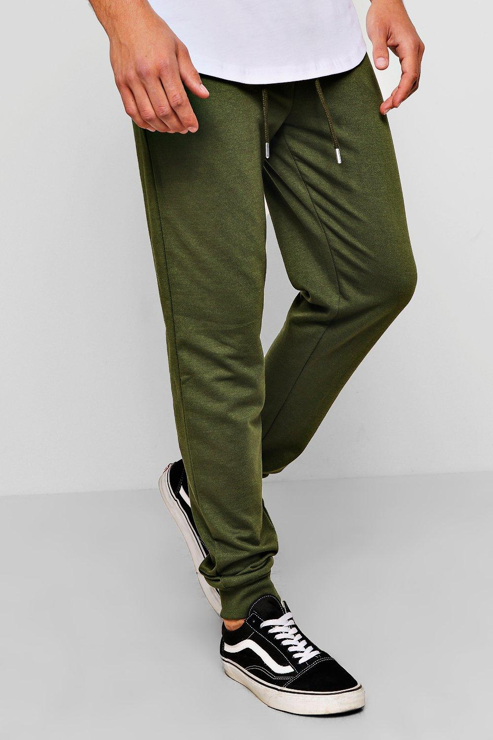MAN Signature Fit Slim olive Joggers rvZZwpqY