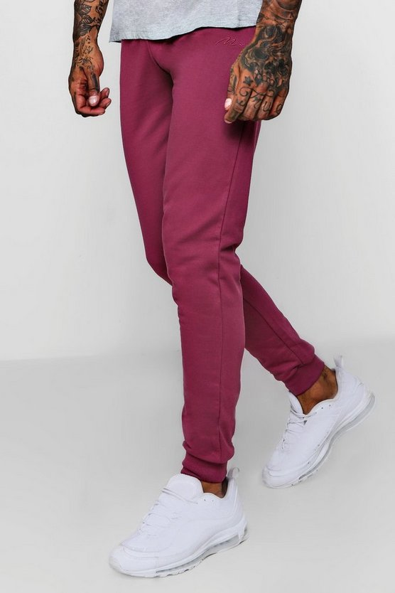 MAN Signature Slim Fit Joggers
