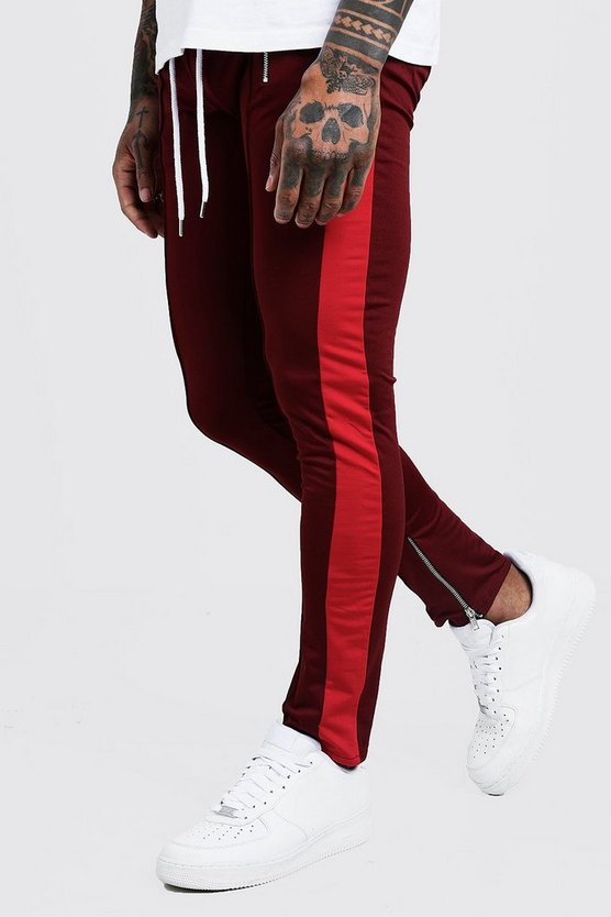 Tricot Side Panel Joggers