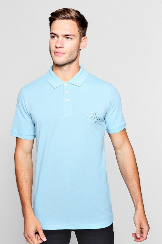 Short Sleeved BM Polo Pique Polo
