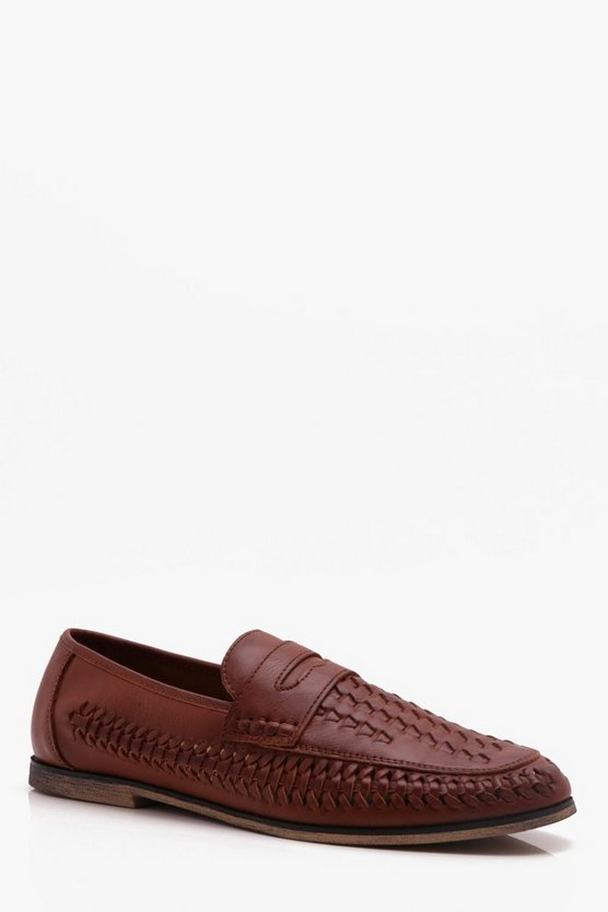 Slip On Faux Leather Loafer