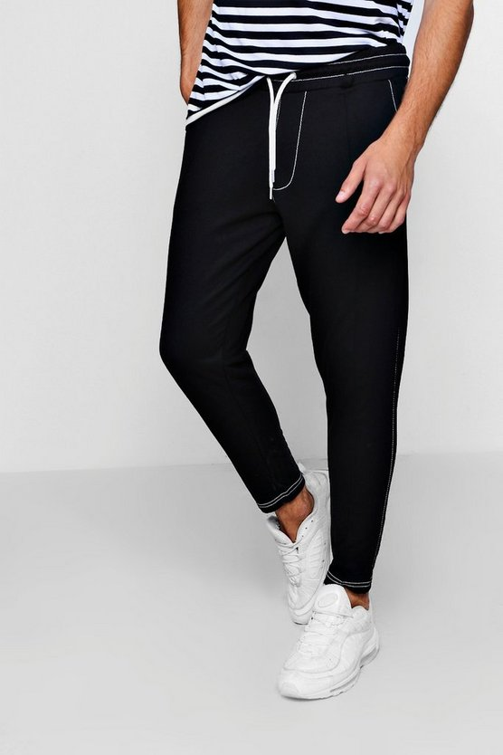 Jersey Top Stitch Jogger
