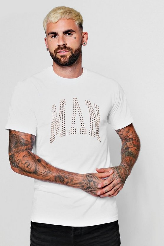 Copper Studded Man T-Shirt