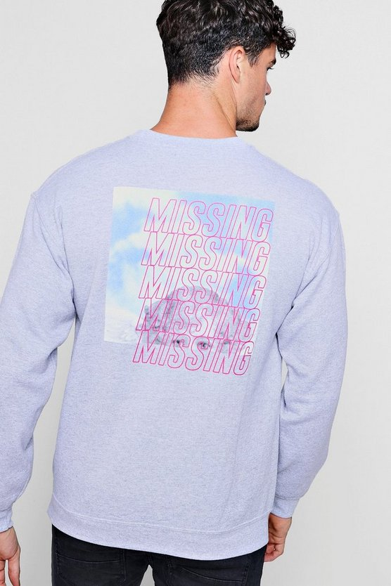 Heavenly Records Back Print Sweater