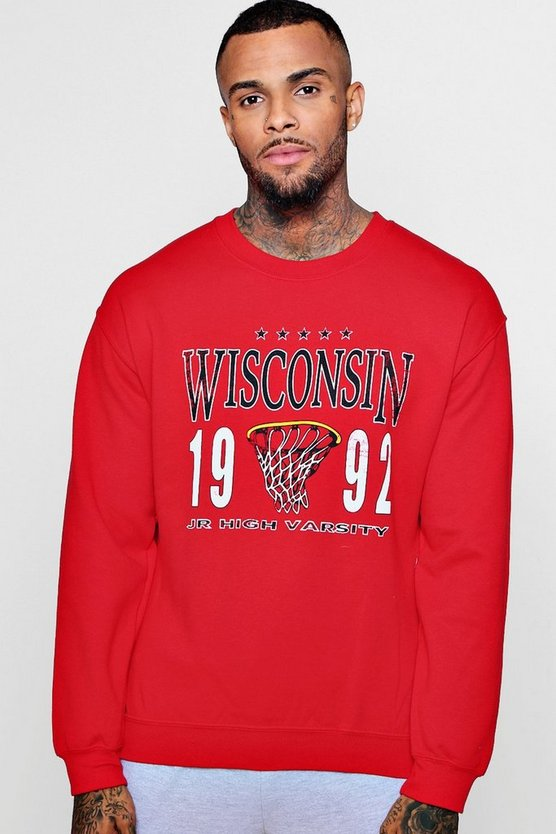 Wisconsin College Basketball Sweathsirt