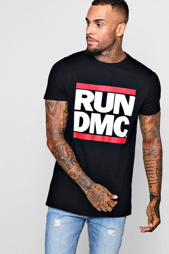 Longline Run DMC T-Shirt