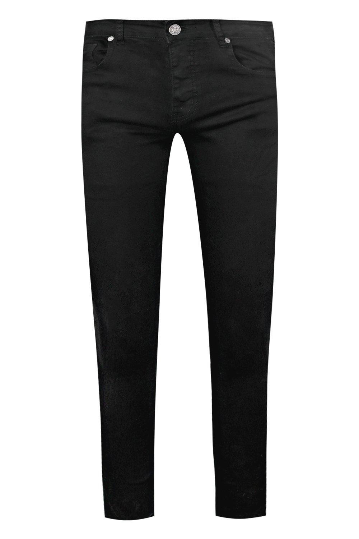 super skinny negro en denim Jeans negro pFwqdp0