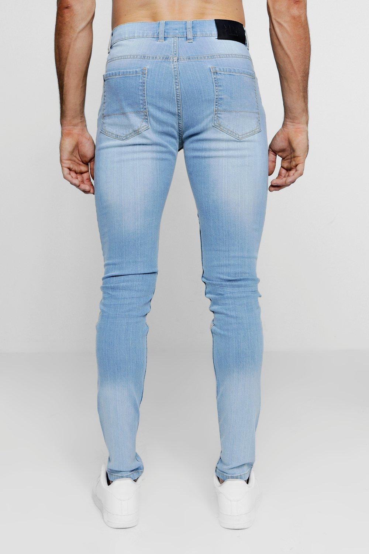 en lavado skinny lavado Jeans azul azul OcWw6454qS