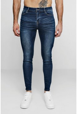 Herr Super Skinny Antique Wash Denim Jean