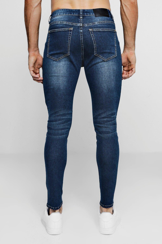 con skinny en super lavado antiguo denim Jeans antiguo lavado qFzHIZSxw