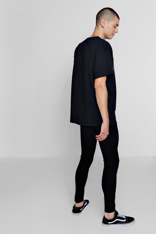 skinny rociados Jeans negro en negro 1pzzcTnWBq