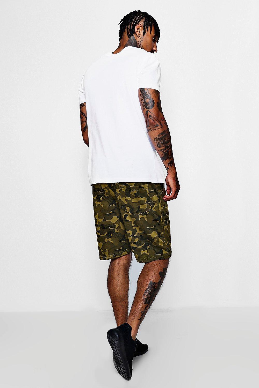 con de camuflado cortos Pantalones punto estampado camuflaje xB4TtZqwZ