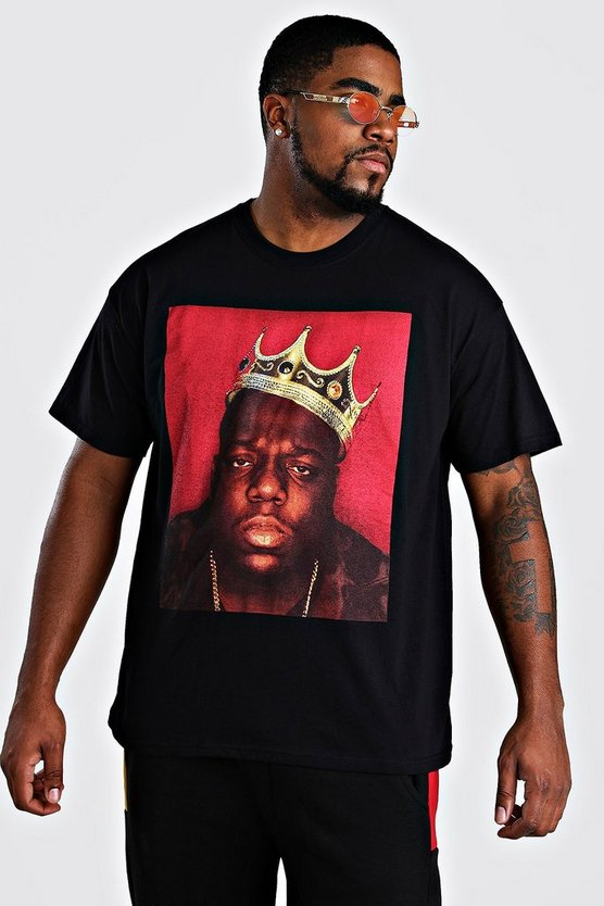 T-Shirt Biggie Crown Big And Tall