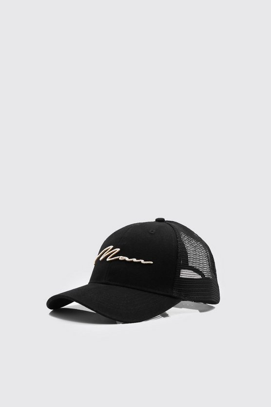 3D Gold Embroidery Exclusive Trucker