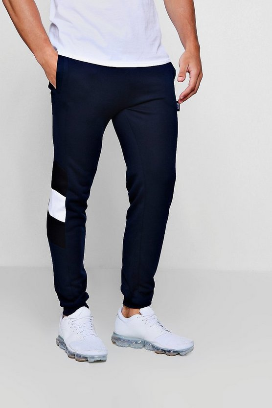 Side Panel Jersey Jogger