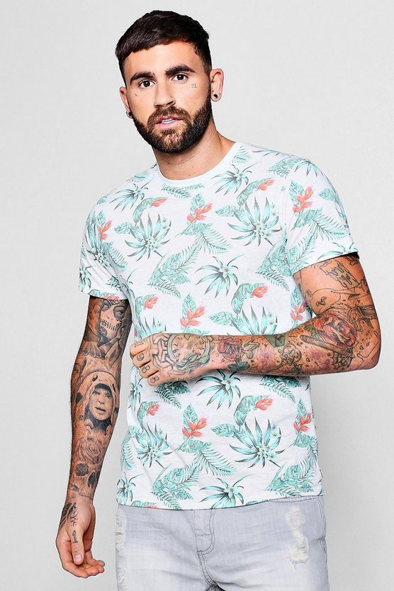 Washed Floral T-Shirt