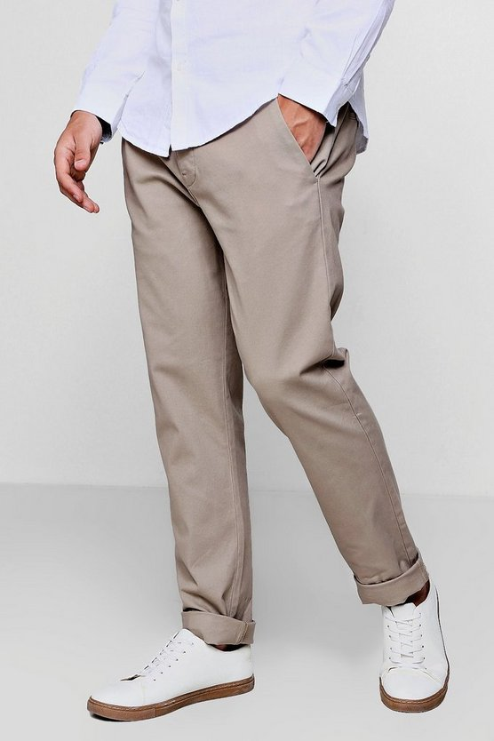 Stretch Slim Fit Cotton Chino Trouser