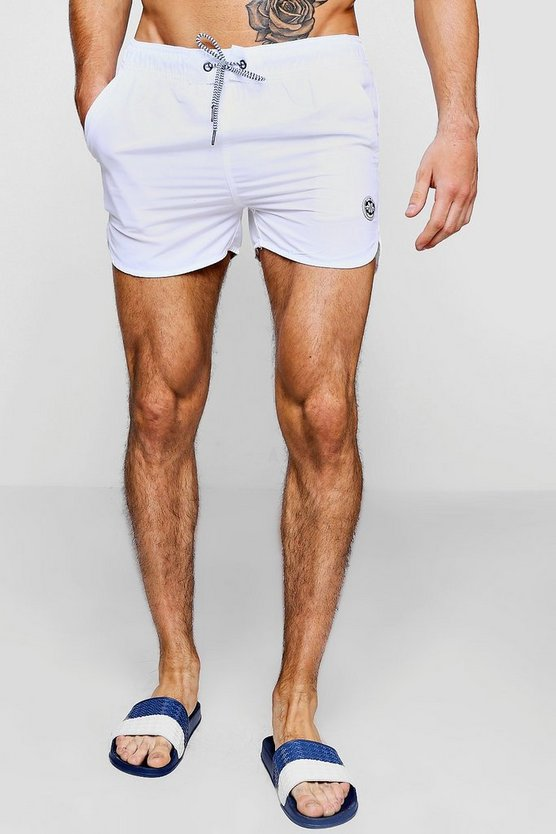 Runner Swim Short With Contrast Drawcord