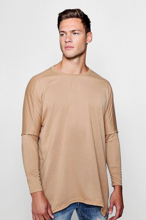 Oversized T-Shirt With Split Hem