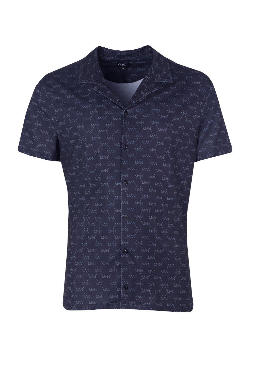 de con cuello gris Conjunto MAN camisa reversible repetido UqdEZSg