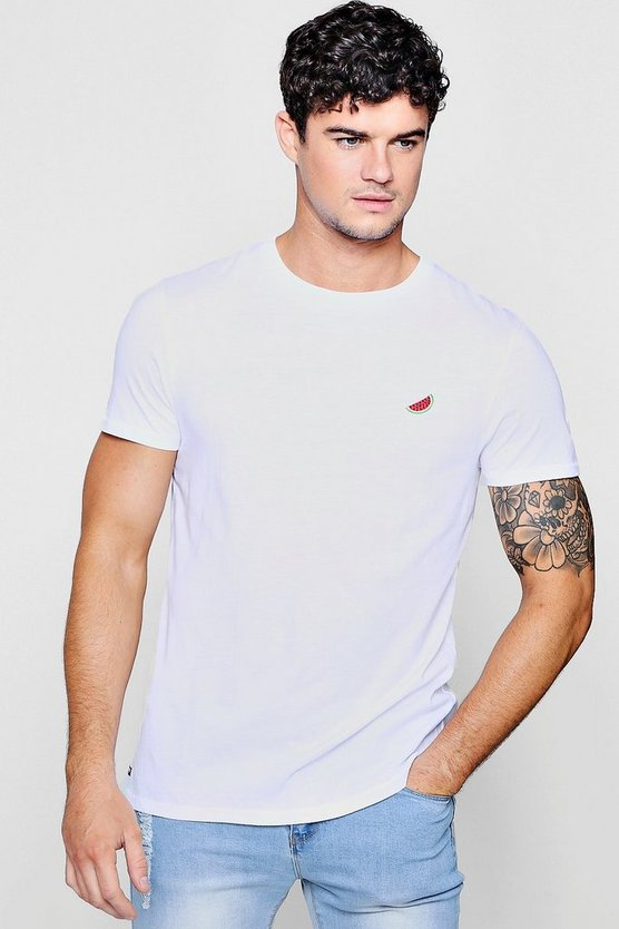 Melon Embroidered T-Shirt
