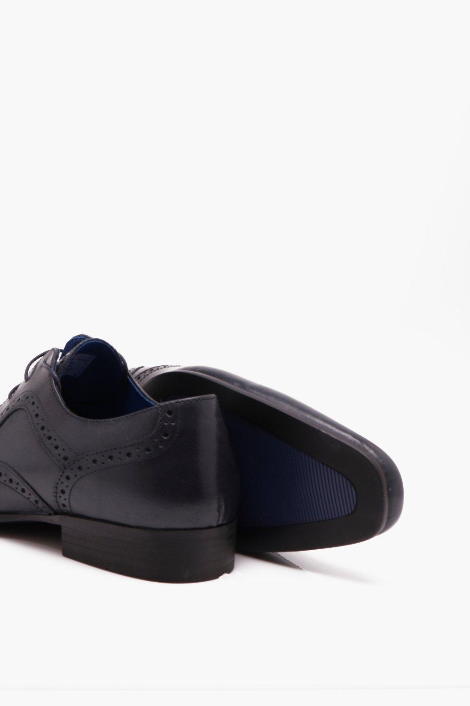 marino en relieve formales en auténtico Azul cuero Zapatos wPFAvq06n ...