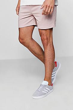 Jersey Basic Short Length Shorts