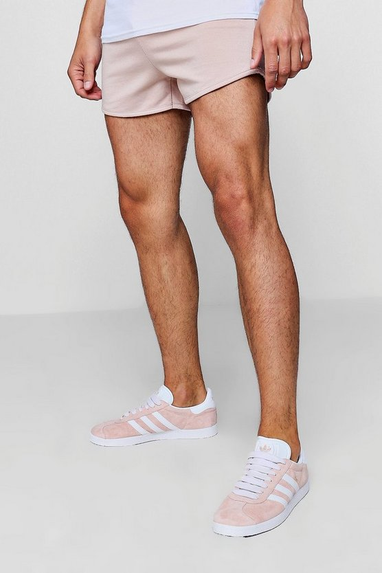 Jersey Basic Runner Shorts