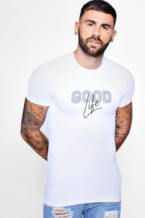Good Life Muscle Fit T-Shirt