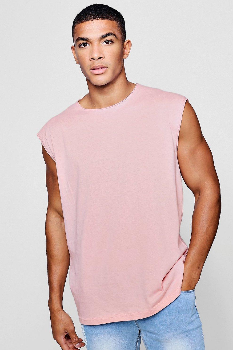 Camiseta Tirantes Sin Bajo De Rematar Cuello Redondo Con Vuelto tdhQsr