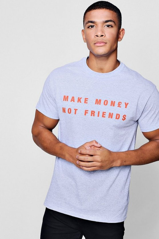 T-Shirt à slogan Make Money