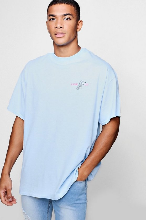 Oversized T-Shirt With Link Up Graphic
