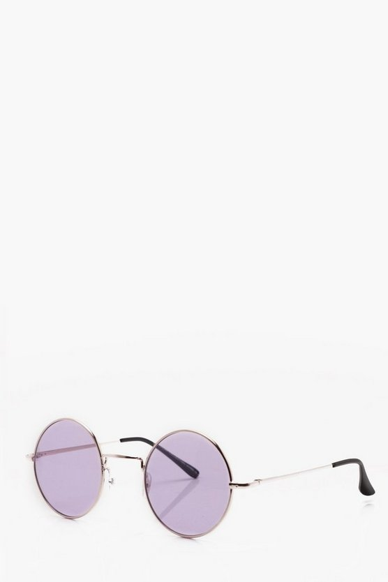 Purple Tinted Lens Glasses