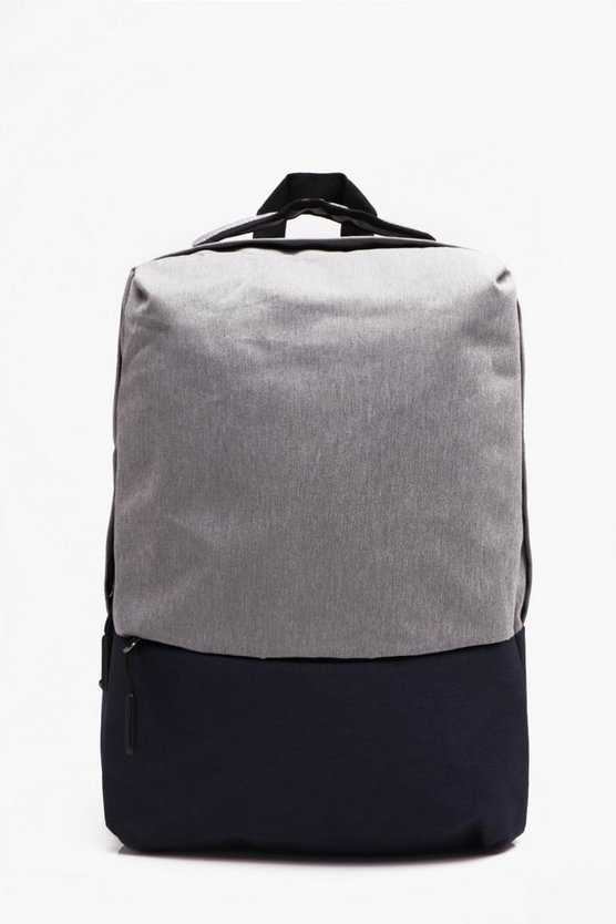 Heavy Nylon Twill Smart Rucksack