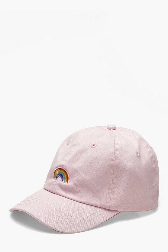 Pride Rainbow Embroidered Cap