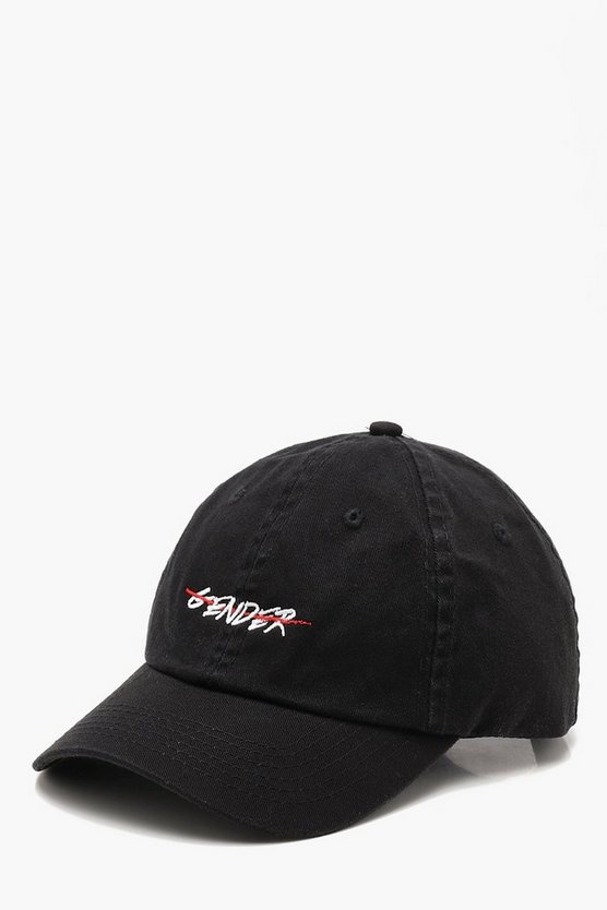 "Pride """"End Gender"""" Embroidered Cap"
