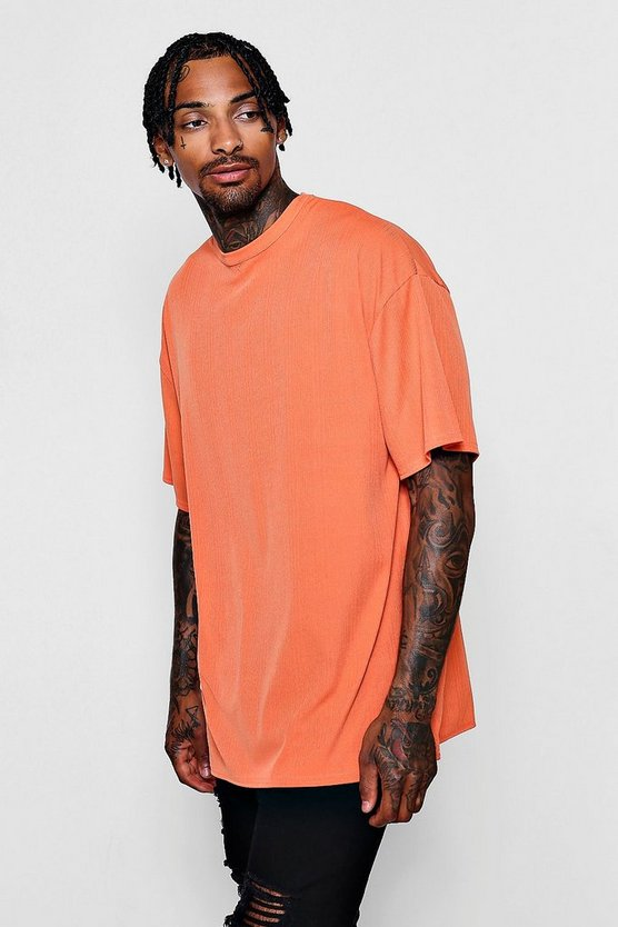 Oversized Ribbed T-Shirt