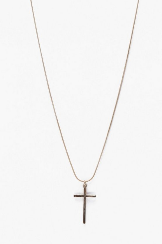 Cross Single Necklace