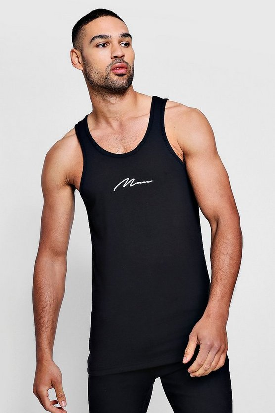 MAN Signature Muscle Fit Vest