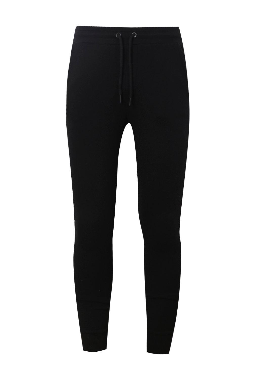 piezas negro camufladas Pantalones correr de de de jérsey skinny wqxAxIa