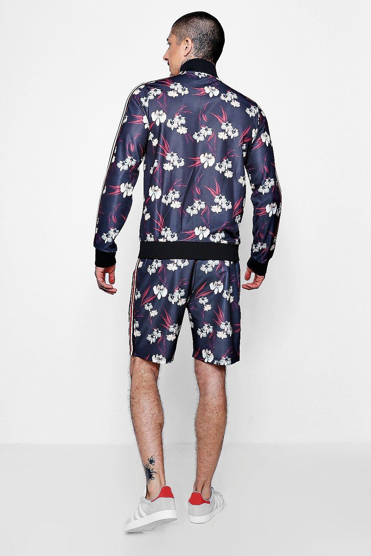 Floral Tape black Sport Oriental Shorts gz1qgd
