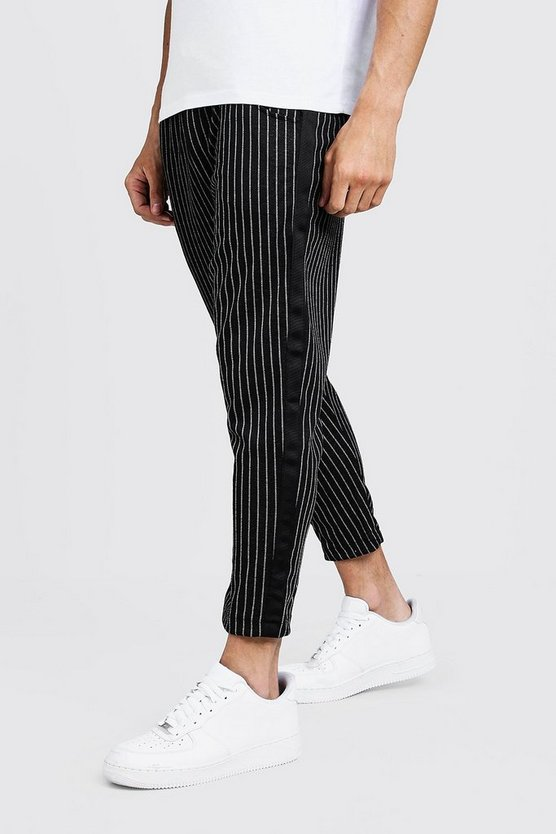 Stripe Jogger Trouser With Side Tape