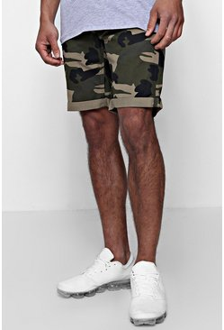 Mens Camo Chino Short
