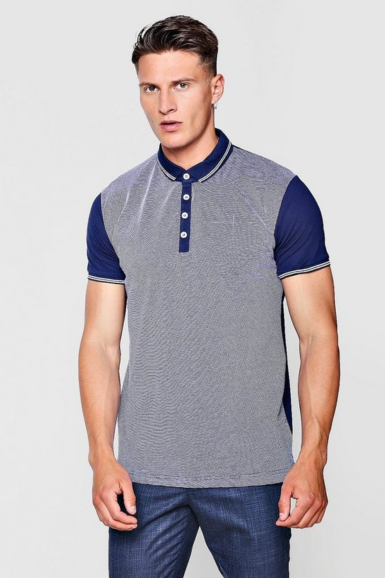 Birds Eye Jacquard Polo