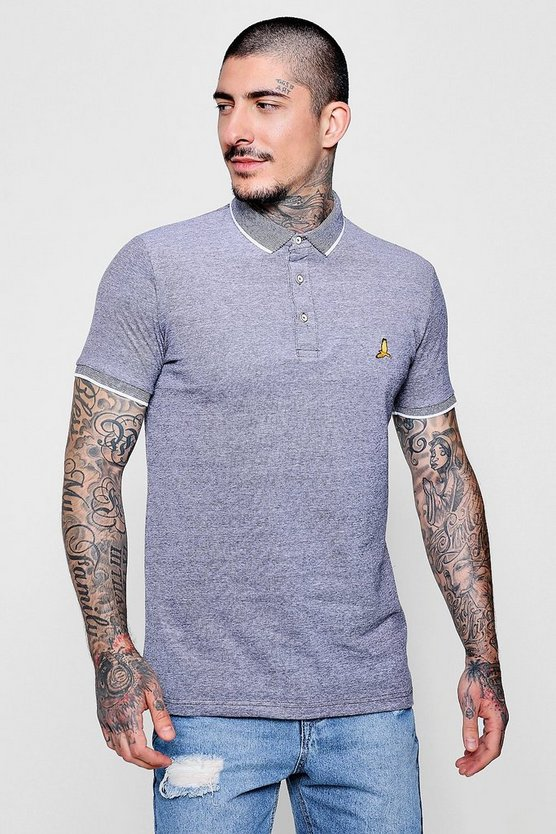 Birds Eye Pique Polo With Embroidery