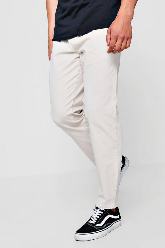 Stone Jogger Style Chino Trouser