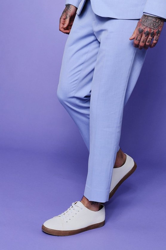 Skinny Fit Cropped Trouser