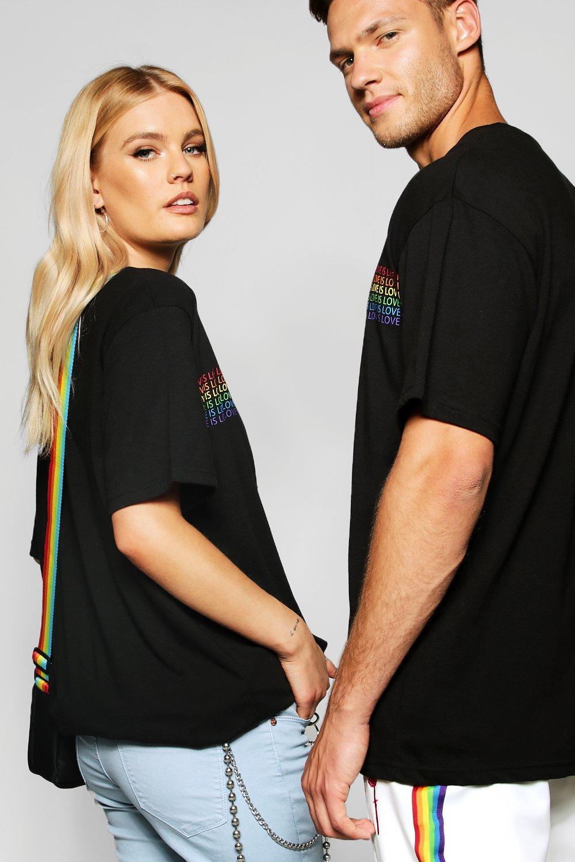 """con estampado Camiseta """"Love arcoiris is a0xpxqw"""